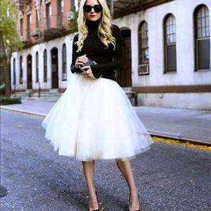 Beautiful Tulle Ballerina Skirt